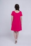 Платье 06149 малиновый