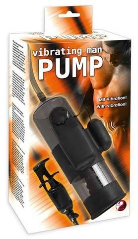 Вибропомпа для мужчин Vibrating Man Pump (5,5 х 20,7 см)