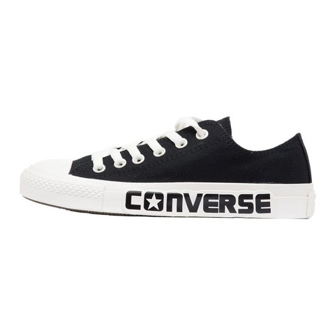 Кеды Converse Chuck Taylor All Star Black с надписью