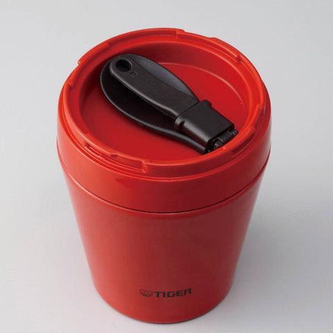 Термос для еды Tiger MCC-A (0,38 литра), оранжевый