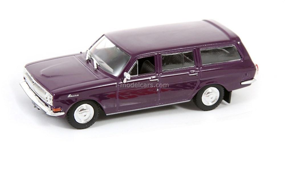 GAZ-24-02 Volga purple 1:43 DeAgostini Kultowe Auta PRL-u #81
