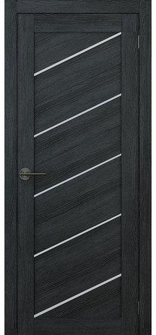 Дверь APOLLO DOORS F15, стекло матовое, цвет дуб серый, остекленная