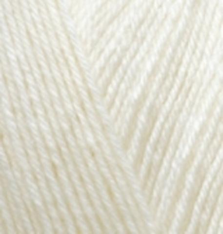 Купить Пряжа Alize Superwash 100 Код цвета 1 | Интернет-магазин пряжи «Пряха»