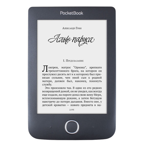 Электронная книга PocketBook 614 Plus Black Черная