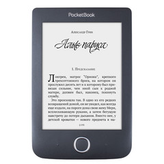 Электронная книга PocketBook 614 Plus Basic 3 Black Черная