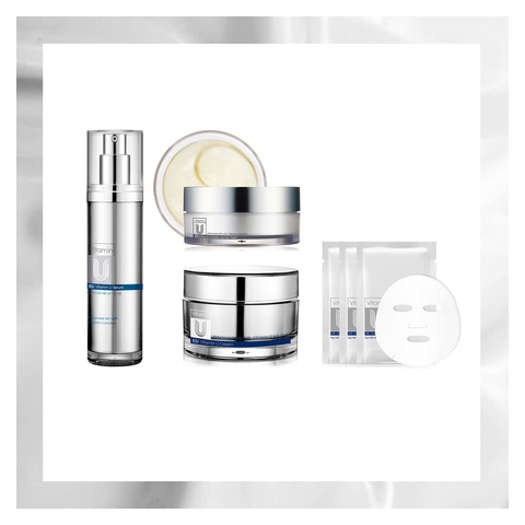Антиэйдж Уход CU SKIN: Vitamin U Peptide Care Set