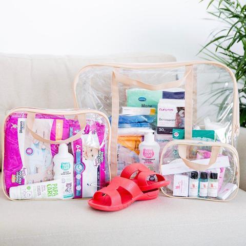 Готовая сумка в роддом для мамы и малыша КОМФОРТ