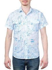 647-2 рубашка мужская, цветная