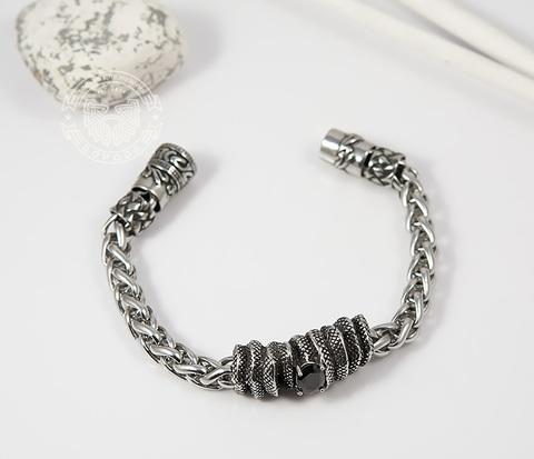 BM381 Оригинальный браслет из стали с магнитной застежкой (20 см)