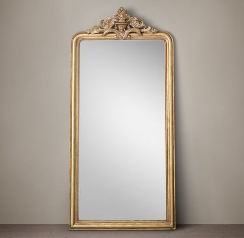 Louis Philippe Gilt Leaner Mirror