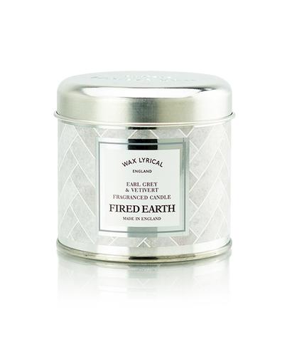 Свеча ароматическая в металле Чай с бергамотом и ветивером, Wax Lyrical