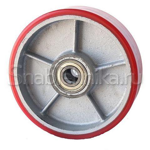 PU 200х50мм колесо с подшипником для гидравлических тележек
