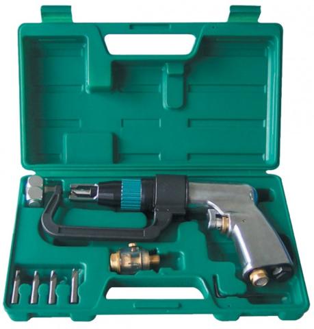 Набор дрель пневматическая 1800 Об/мин, свёрла и фильтр, 9 предметов JAD-1015K, JONNESWAY