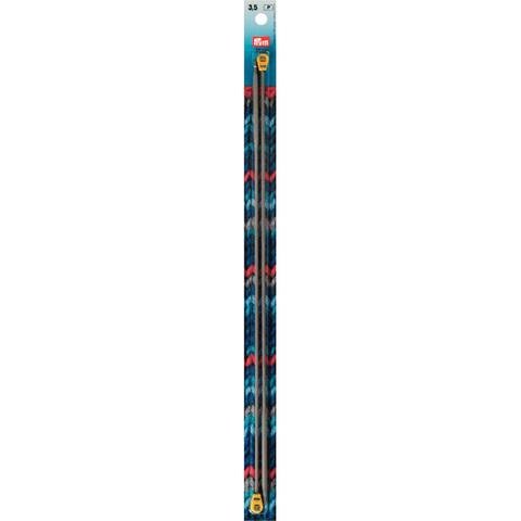 Спицы прямые 3,5мм/35см PRYM 191520