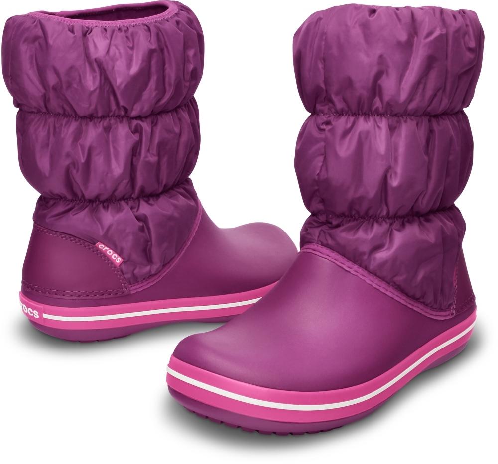 Купить дутики женские Crocs Winter Puff Boot Women