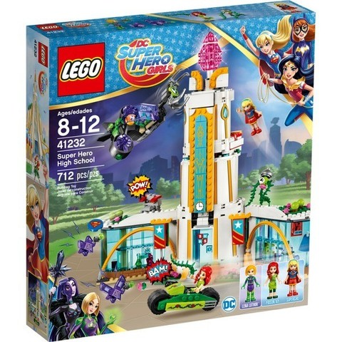 LEGO DC Super Hero Girls: Школа супергероев 41232 — Super Hero High School — Лего Девушки-супергерои