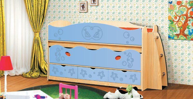 Двухъярусная кровать Омега 10 МДФ