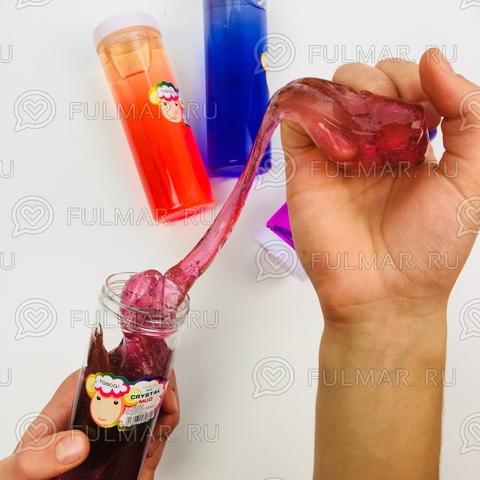 Набор слайм лизун большой в бутылке (3 шт.)