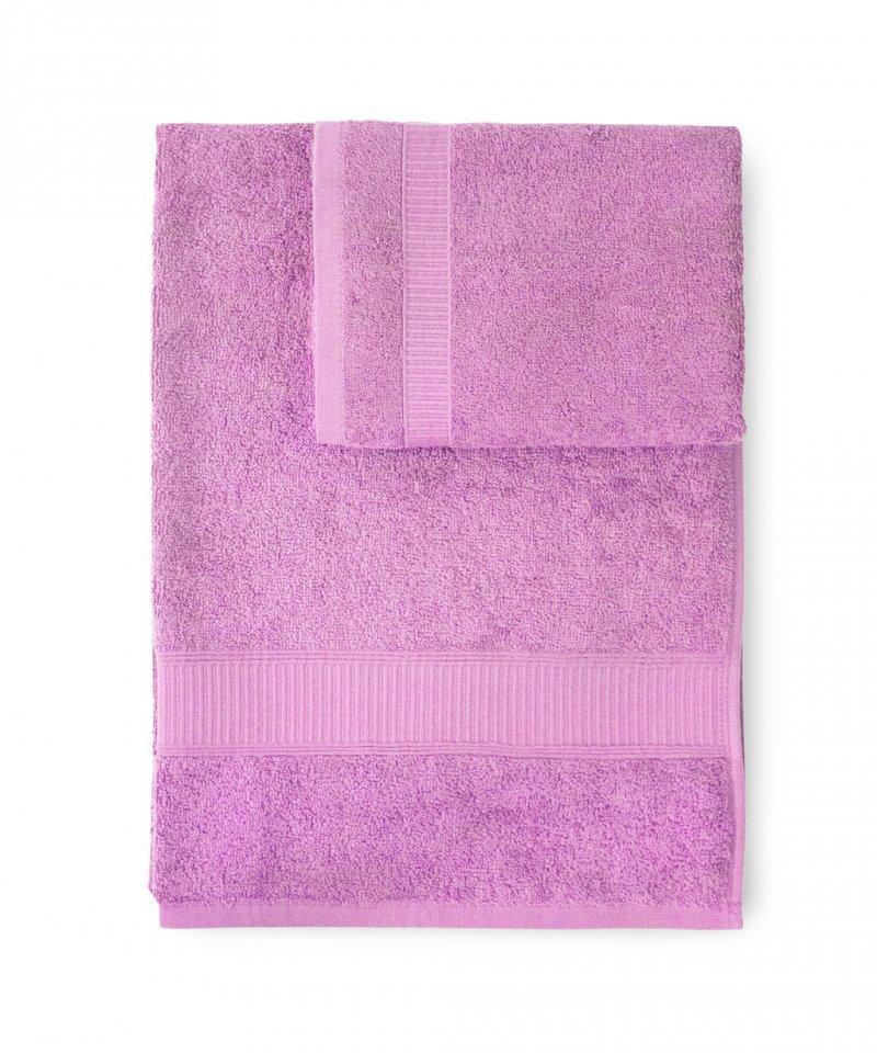 Полотенце 100х150 Caleffi Calypso розовое
