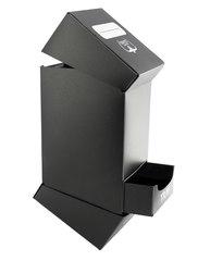 Ultimate Guard - Черная коробочка на 100 карт с отделением для кубиков