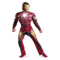Костюм Железного Человека классический Марк 6 для мальчика
