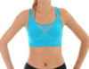 Женский спортивный топ для бега Brubeck Thermo (CR10070) голубой фото