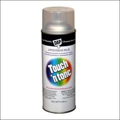 Лак-аэрозоль уретановый DAP Touch n Tone глянцевцый (мет. алюминий)