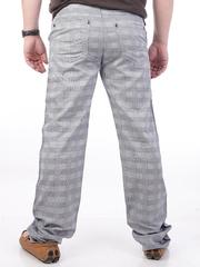 W2019-10 джинсы мужские. клетка