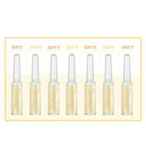 Набор ампул с экстрактом галактомисис Scinic Layering One-Shot Power Ampoule V Toning Jet (1,5 мл*7)
