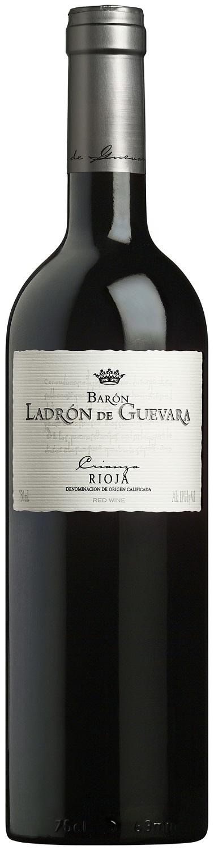 Вино Риоха Крианса Барон Ладрон де Гевара сухое красное защищ.наимен.места происх. рег.Риоха 0,75л.