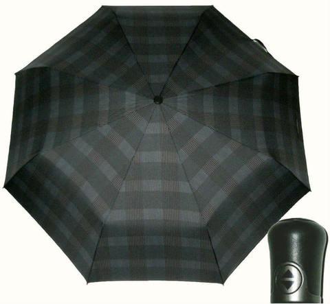Купить онлайн Зонт складной Maison Perletti 16215-gray Scottish в магазине Зонтофф.