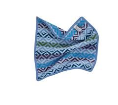 Салфетка шенилловая 30x30 Feiler Square джинсово-голубая
