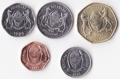Ботсвана набор 1987