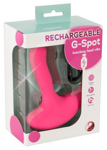 Вибратор G Rechargeable G-Spot Vibe (2 х 9,5 см)