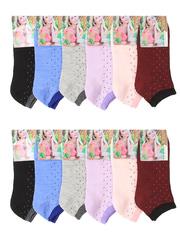 359 носки женские 36-42 (12 шт.) цветные