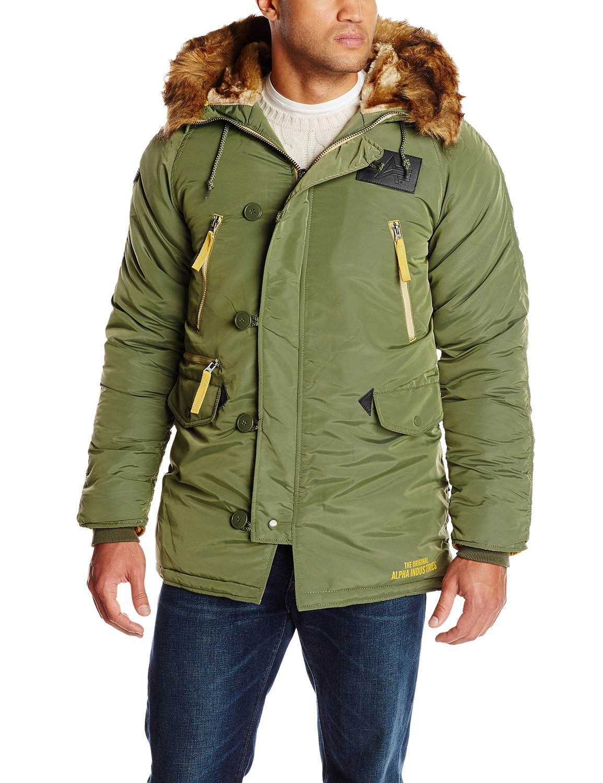 7189f6e10fb Куртка Аляска - N-3B Inclement Parka (оливковая - D.green)