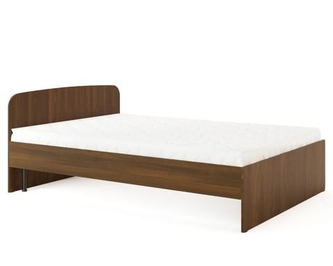 Кровать КР-03 орех тёмный