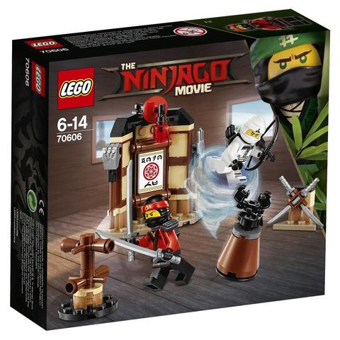 LEGO Ninjago Movie: Уроки мастерства Кружитцу 70606 — Spinjitzu Training — Лего Ниндзяго Муви Фильм