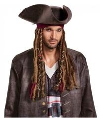 Пираты Карибского моря Треуголка с дредами Джека Воробья