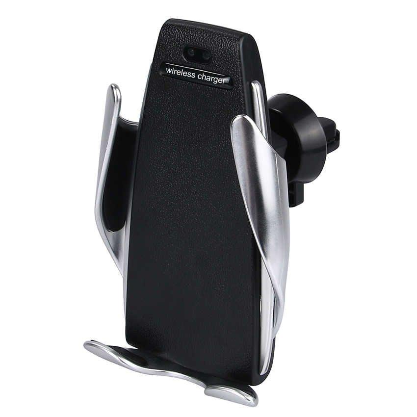 Гаджеты Держатель для телефона с беспроводной зарядкой Penguin Smart Sensor S5 derjatel.jpg