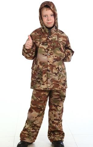 Камуфляжный детский костюм Ветерок (ткань Мультикам)