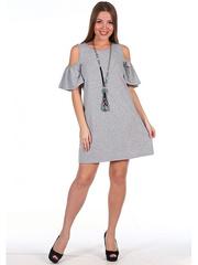 340 Платье женское, серое