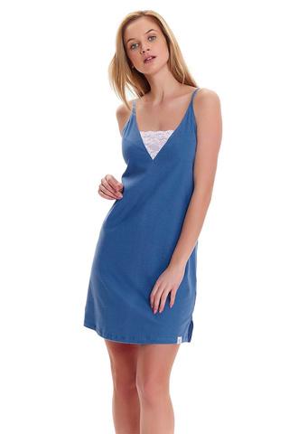Женская сорочка TM.9418 Royal Blue Doctor Nap
