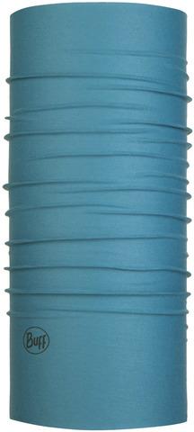 Бандана-труба летняя с защитой от насекомых Buff CoolNet Insect Shield Solid Stone Blue