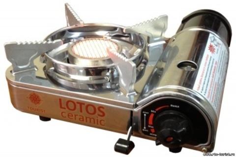 Газовая плита керамическая LOTOS CERAMIC, TR-350