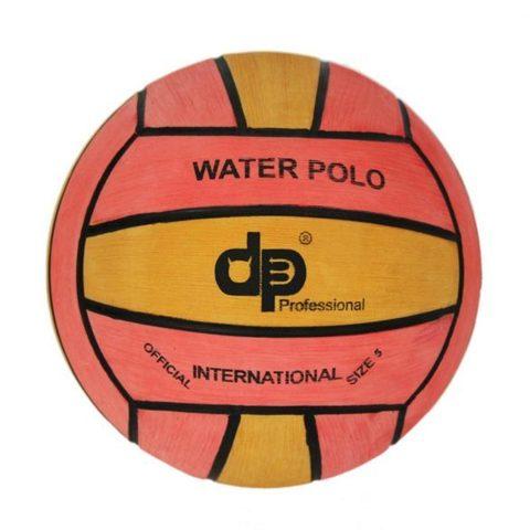Тренировочный ватерпольный мяч DIAPOLO W5 men yellow-pink Размер 5 мужской арт.B-DP5-0116