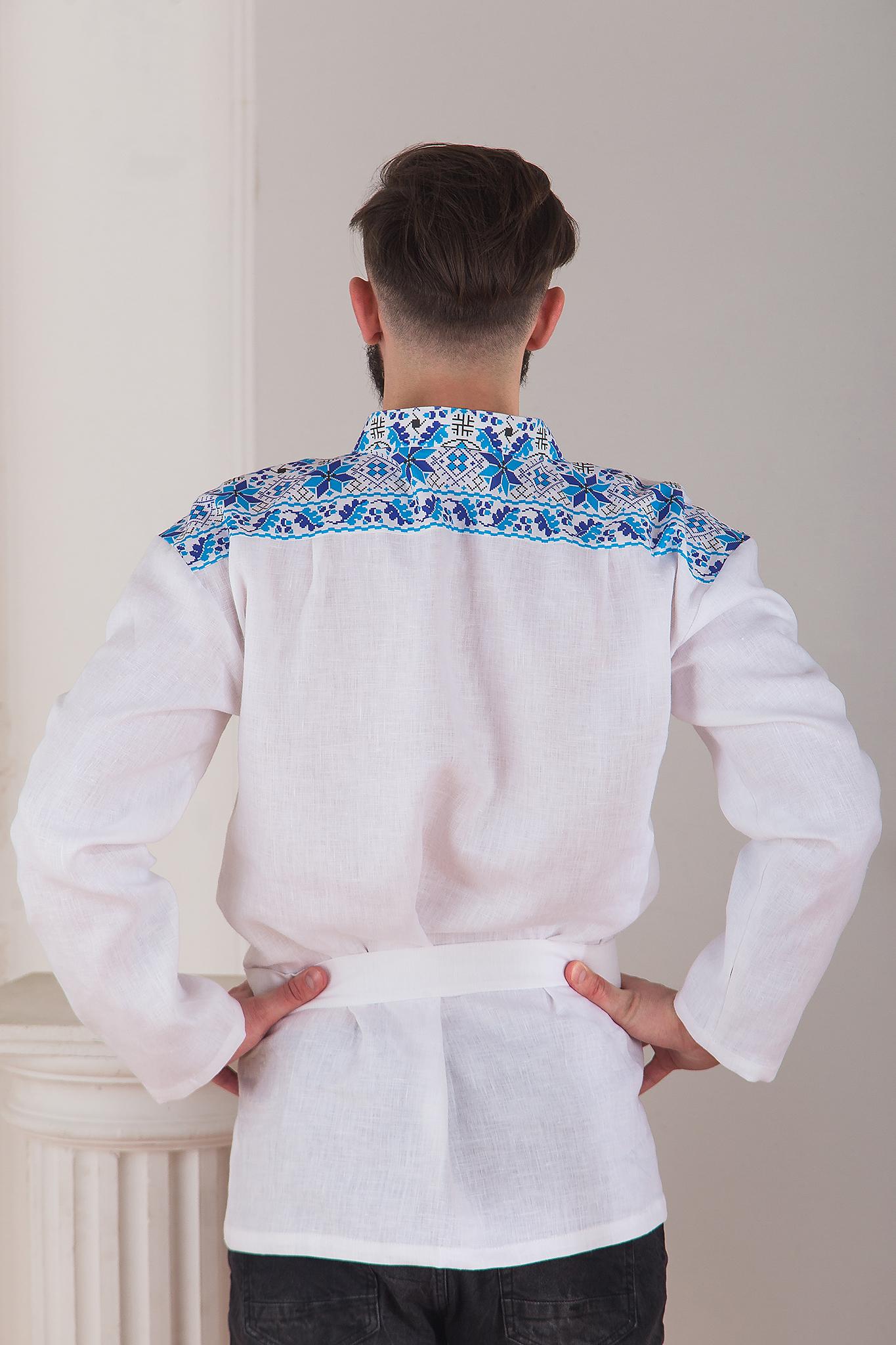 русская современная рубаха Северная