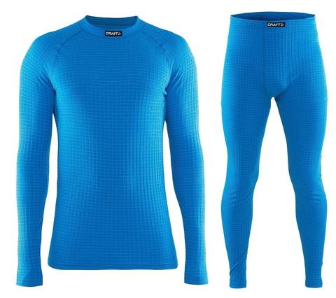 Комплект термобелья Craft Warm Wool мужской Blue
