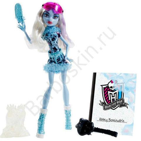 Кукла Monster High Эбби Боминейбл (Abbey Bominable) - Художественный класс (Art Class), Mattel