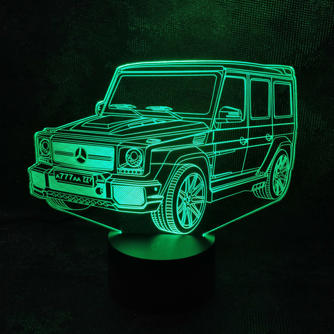 Лампа Мерседес Гелендваген